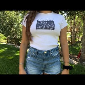 Brandy Melville China Town Tee